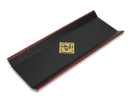 Bandeja de toalla de lacado japonés para la mesa, para toallas frías o calientes,