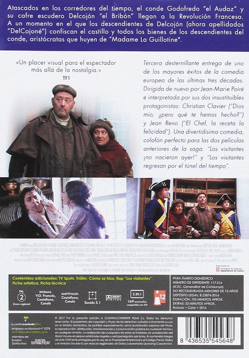 Amazon.com: Los Visitantes La Lían -- Les Visiteurs: La Révolution -- Spanish Release: Jean Reno, Franck Dubosc Christian Clavier: Movies & TV