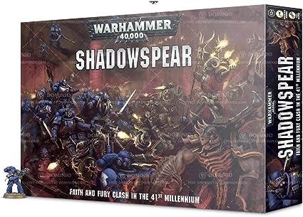 Shadowspear Vanguard Space Marine Librarian in Phobos Armor Warhammer 40k