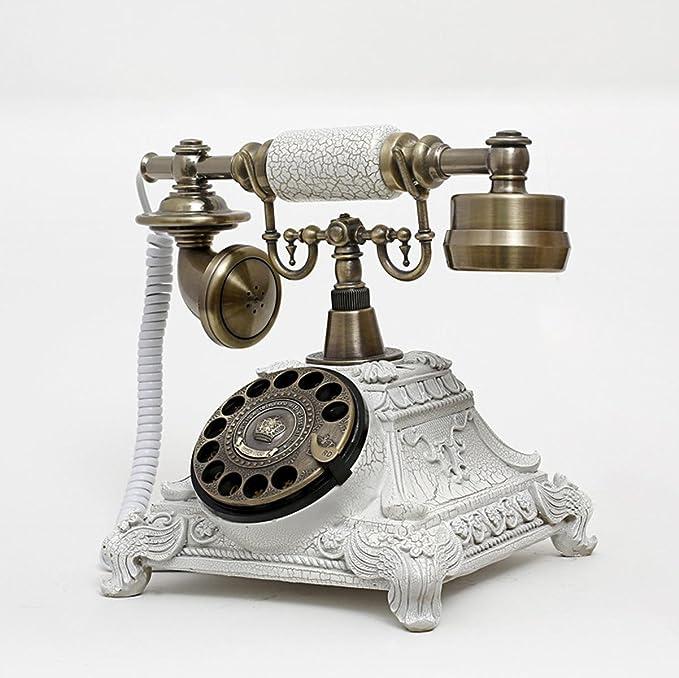 TY europeo antiguo teléfono/oficina sala de estar para ...