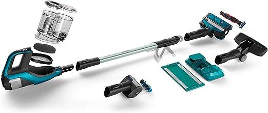 Philips Aspirador vertical sin cable FC6903/01 - Aspiradora escoba (Sin bolsa, Azul, Secar, Batería, 25,2 V, 75 min): Amazon.es: Hogar