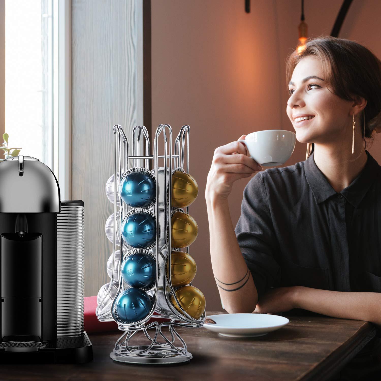 Flagship Revolving Coffee Pod Holder for Nespresso Vertuoline (20 Pods) by FlagShip (Image #7)