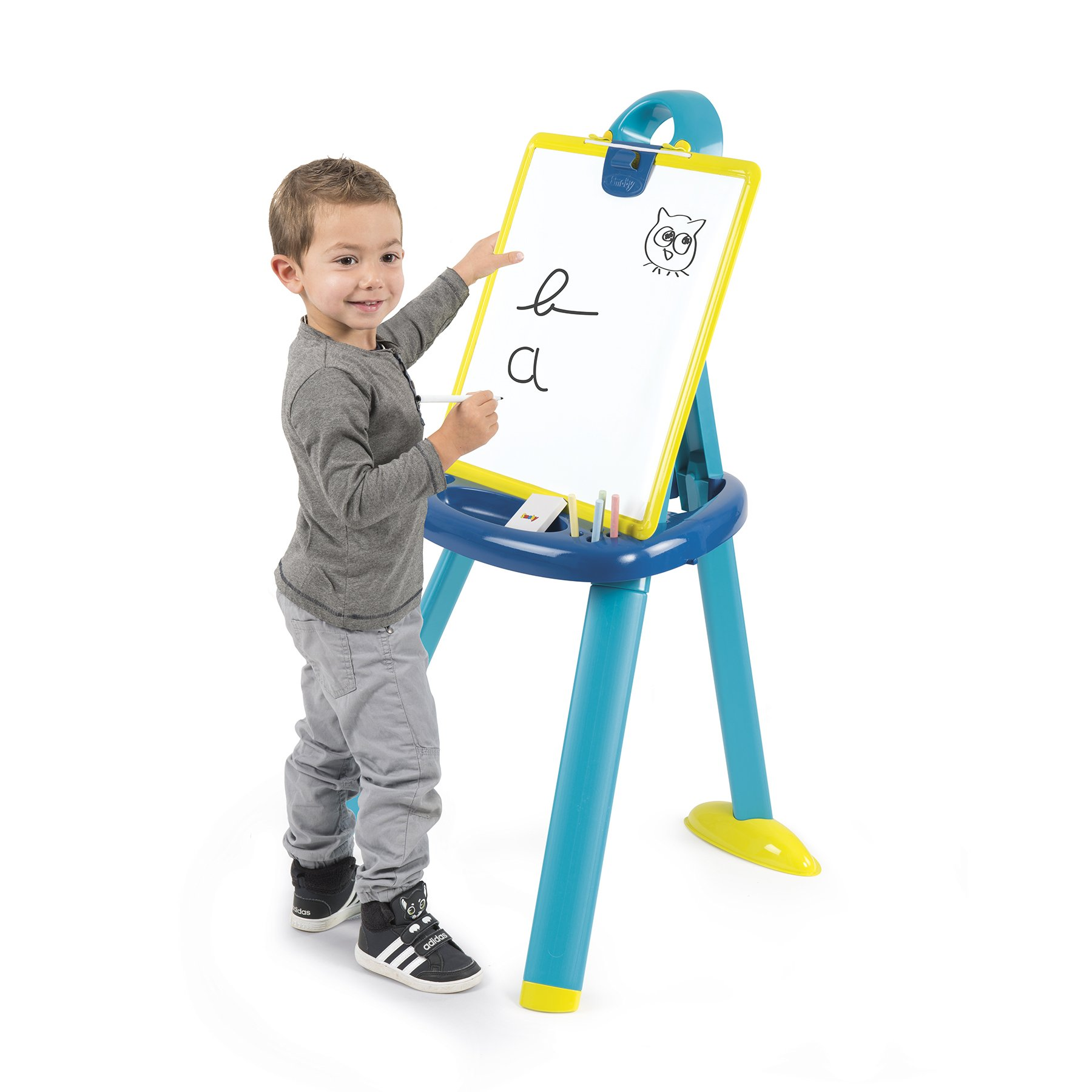 Smoby 410607 Plastic Board Easel, Blue by Smoby