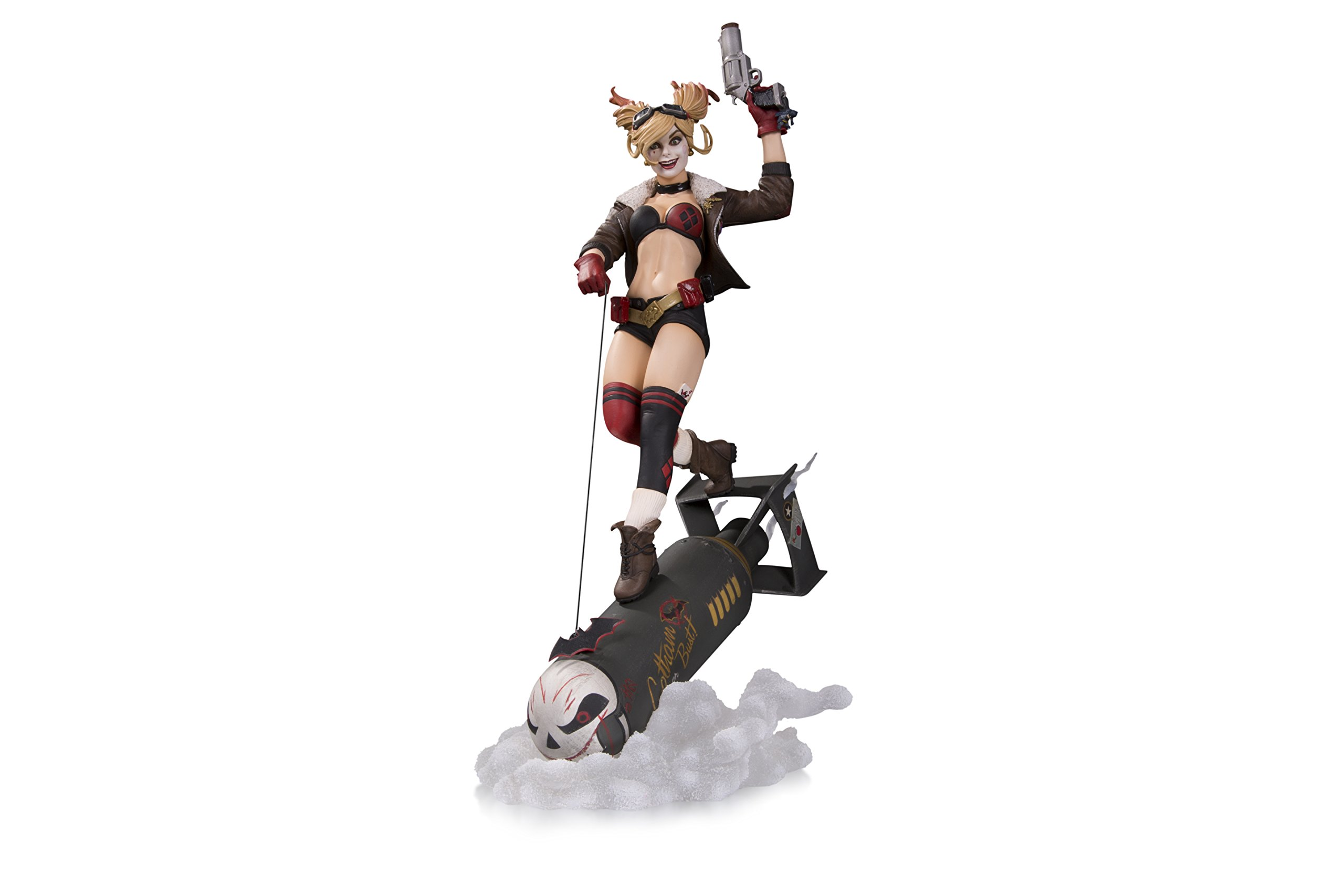 DC Collectibles Bombshells Harley Quinn Deluxe Statue