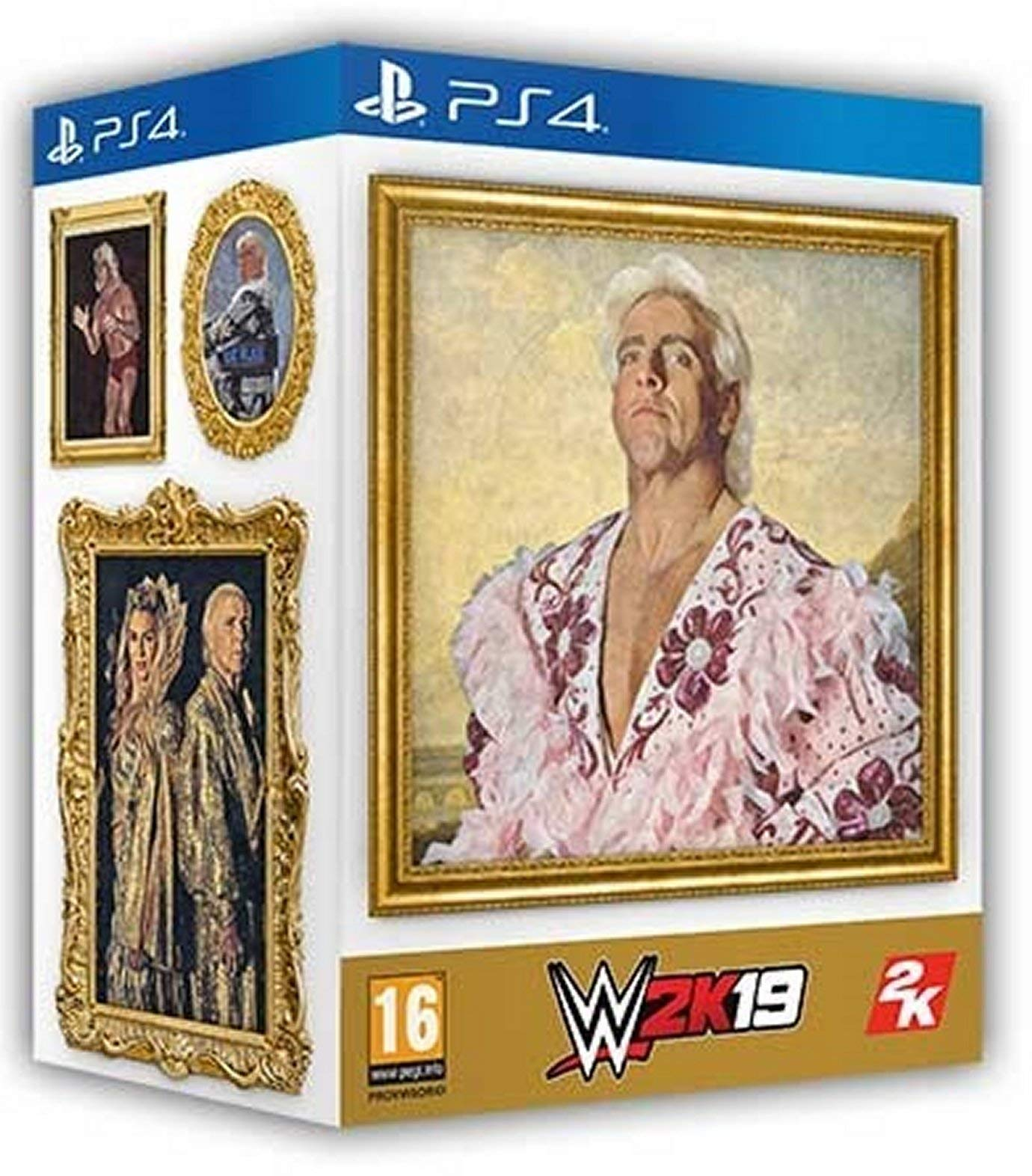 WWE 2K19 PS4 Collector's Edition
