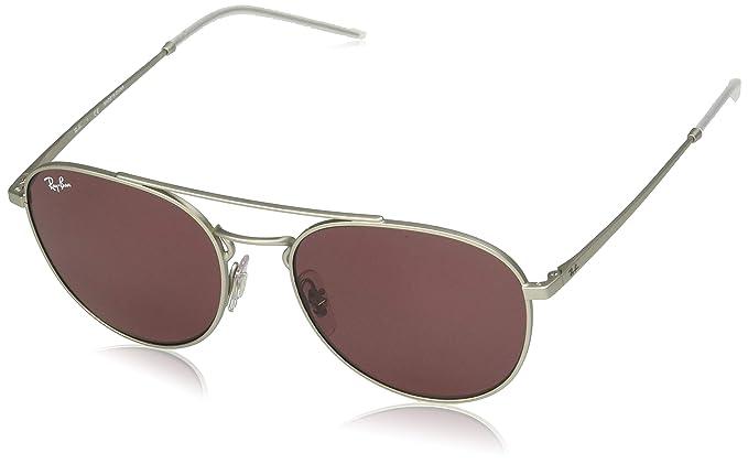 Ray-Ban 0RB3589 Gafas de sol, Rubber Silver, 55 para Mujer ...