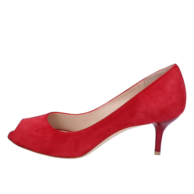 DANIELE ANCARANI Pumps Damen Wildleder rot rot rot d6ac5c
