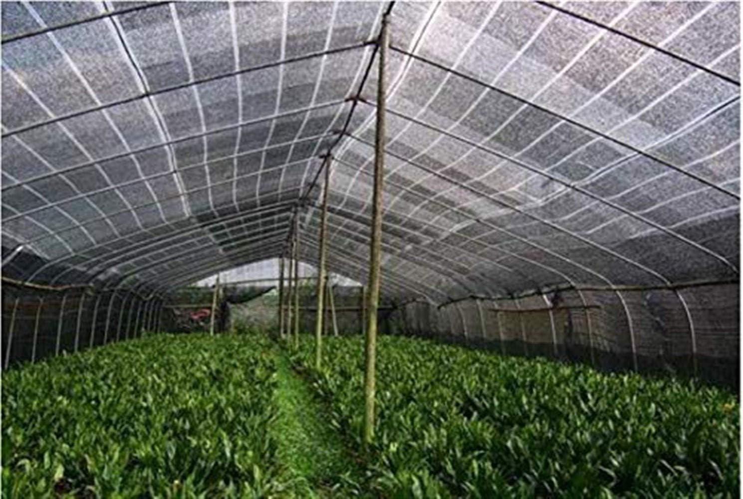 Size : 2x2M//6x6FT KUYUC 40/% Taux Shading Toile dombrage avec Oeillets Filet Protection Solaire pour Abri Voiture Serre Jardin Grang/é Plante Rectangulaire Filet dOmbrage
