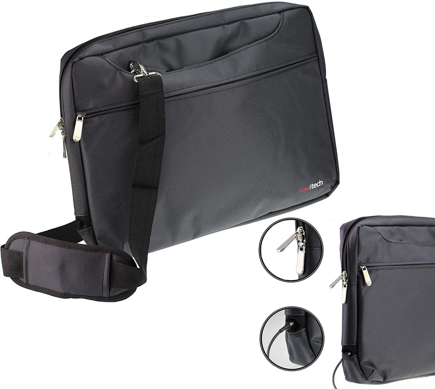 Navitech Black Graphics Tablet Case//Bag Compatible with The HINIDD 8.5 LCD Writing Tablet