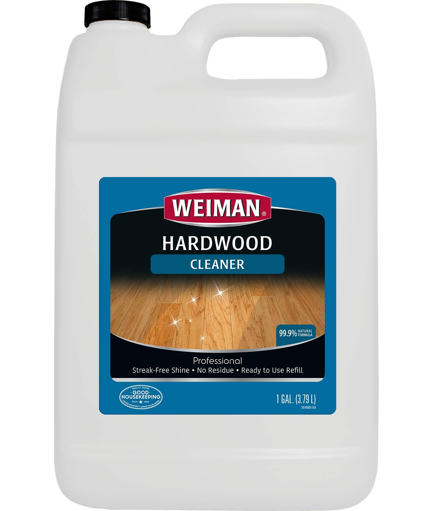 Weiman Hardwood Floor Cleaner 128 FL. OZ. Refill - Professional Strength by Weiman (Image #1)