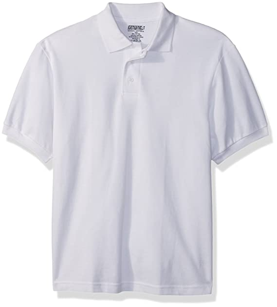 Genuine Boys' Big Polo Shirt (More Styles Available)
