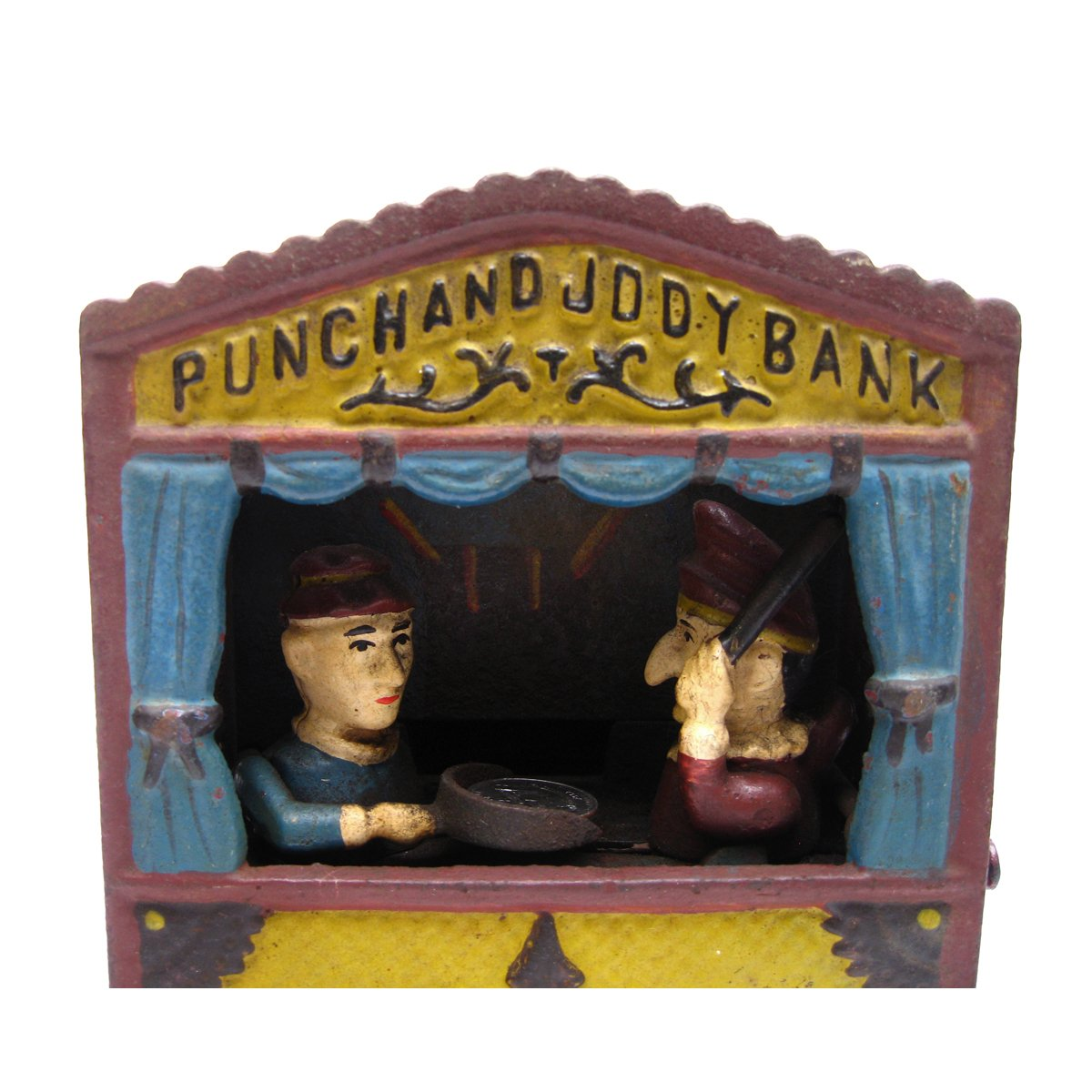 Design Toscano Punch and Judy Theater Collectors' Die Cast Iron Mechanical Coin Bank by Design Toscano (Image #4)