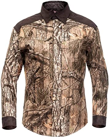Fast Cheetah Hillman XPR Camisa de Camuflaje de Caza con ...