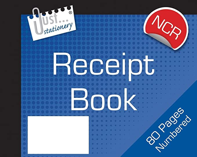 A5 Full Size Invoice Duplicate Book 80 Pages Numbered Business Home Office