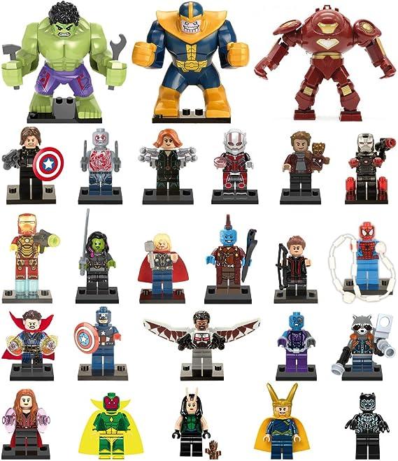 XH 8 Minifiguras de Avengers – Infinity War. 3 Modelos (Kit - 4): Amazon.es: Juguetes y juegos