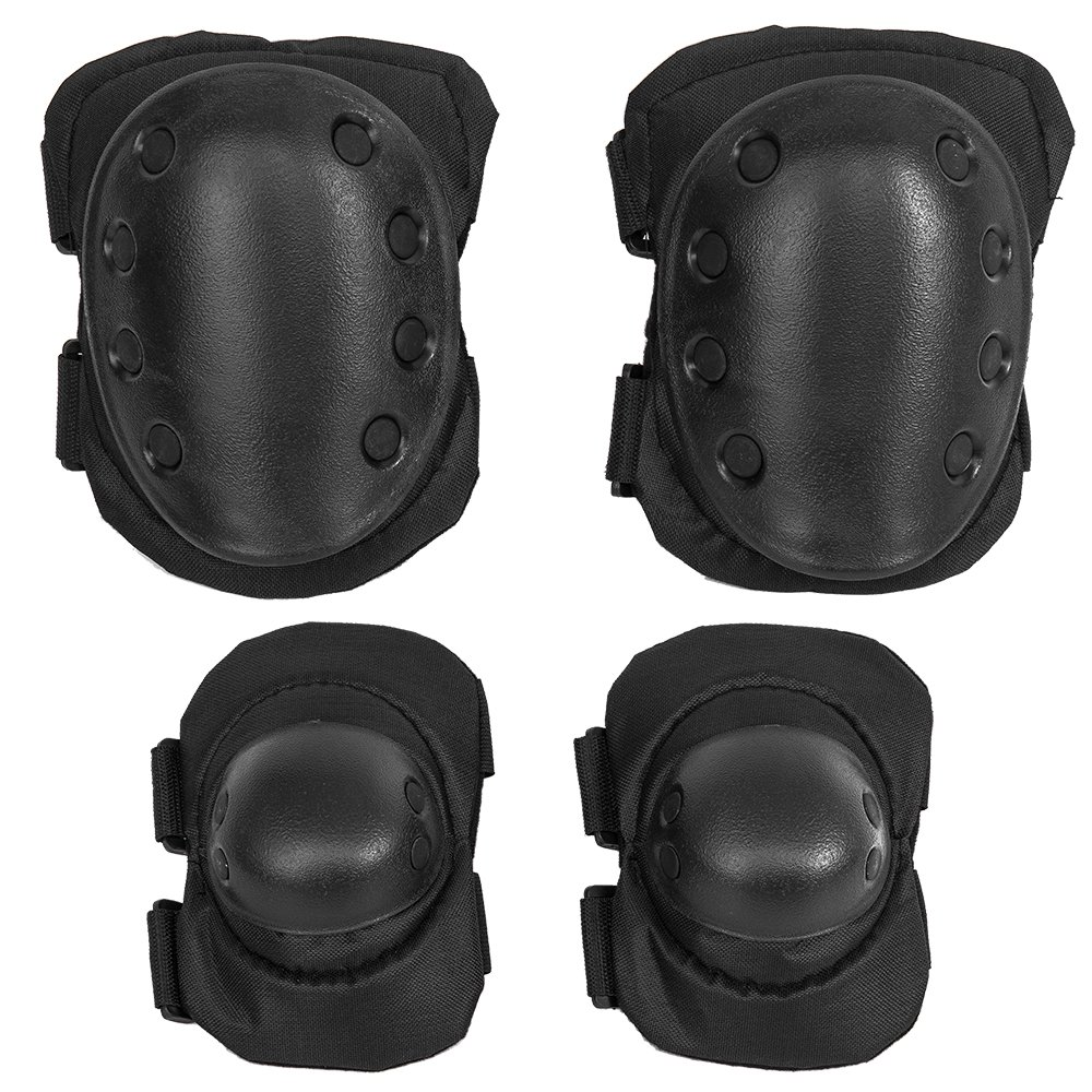 TK Motorcycle Sports Protective Elbowpads Kneepads Hiking Cycling Skating Bicycle Bike MTB Guards Armor Safty Gear Set