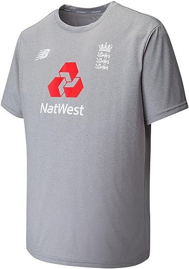 Amazon.com : New Balance England Cricket Training Cotton T-Shirt ...