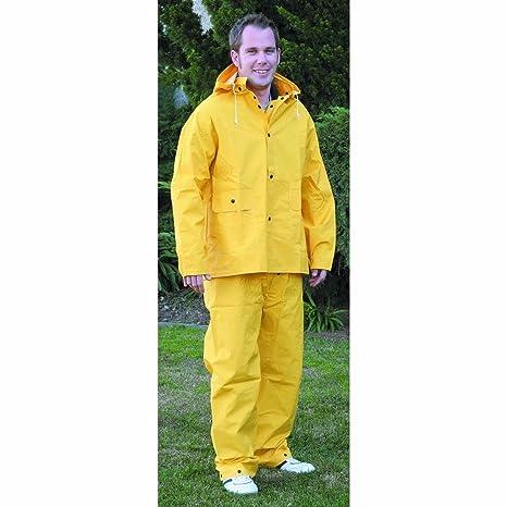 factory price full range of specifications sale uk Amazon.com: Xx-large Men`s Vinyl Long Yellow Rain Coat Suit ...
