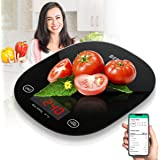 Berytta Smart Food Scale,Bluetooth Digital Kitchen Scale for Baking Cooking,Accurate Food Scale Digital Weight Grams and…