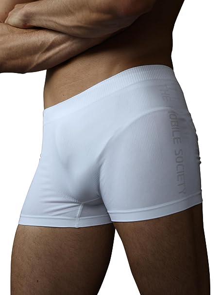 876e45bd7fa7 THE MOBILE SOCIETY Boxer Uomo Intimo Sportivo Traspirante Senza Cuciture  Seamless Made in Italy: Amazon.it: Abbigliamento
