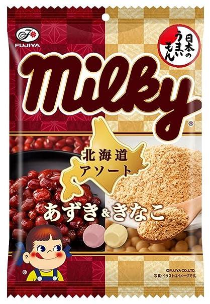 Fujiya 85g V?a Hokkaido surtido (frijol rojo y la harina de soja)