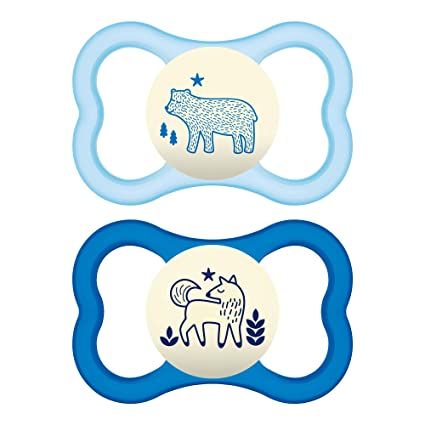 1 Pack of 2 First Steps Soothers