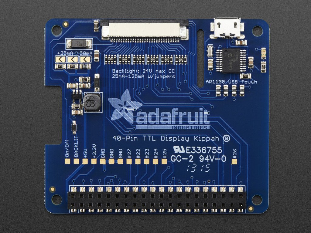 Adafruit DPI TFT Kippah for Raspberry Pi [ADA2454]