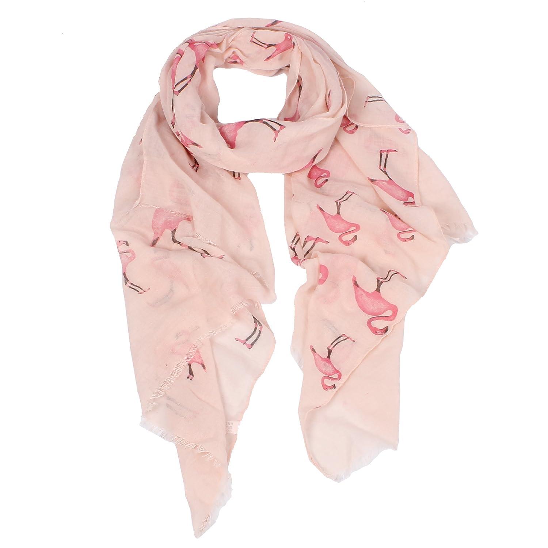 軽量フラミンゴスカーフの女性 B078RKTL37 Pink Flamingo Scarf Pink Flamingo Scarf