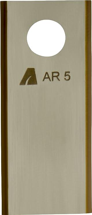 Arnold 1111 de BM de 1009 Tin Cut Cuchillas de repuesto apto para belro botics bigmow Robot cortacésped, 9 unidades AR5 9: Amazon.es: Bricolaje y herramientas