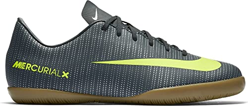 0f89c4f292b Nike Kids  Jr. Mercurial Victory VI IC CR7 Indoor Soccer Shoe (Seaweed)