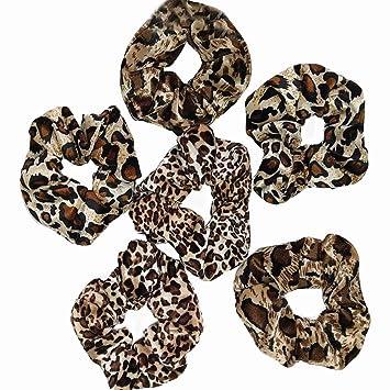 leopard multi coloured spotty scrunchie Large Leopard spot scrunchie comfy scrunchie leopard print scrunchie Dalmatian hair scrunchie