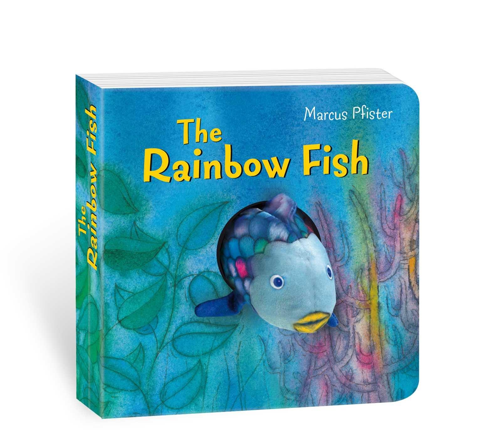 Rainbow Fish Finger Puppet Book (Rainbow Fish (North-South Books))