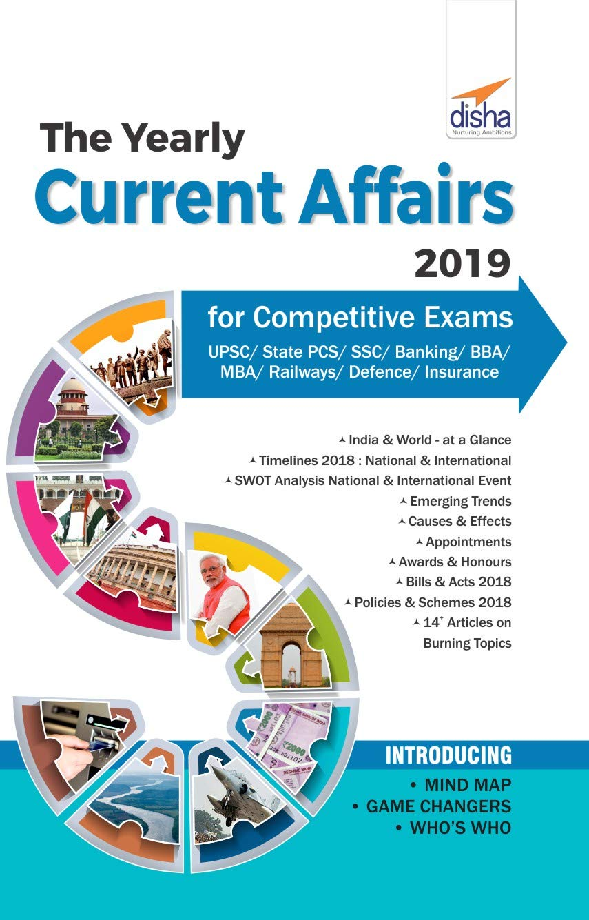 Buy The Yearly Current Affairs 2019 for Competitive Exams