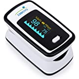 Innovo Fingertip Pulse Oximeter with Plethysmograph & Perfusion Index, Deluxe Ivory White