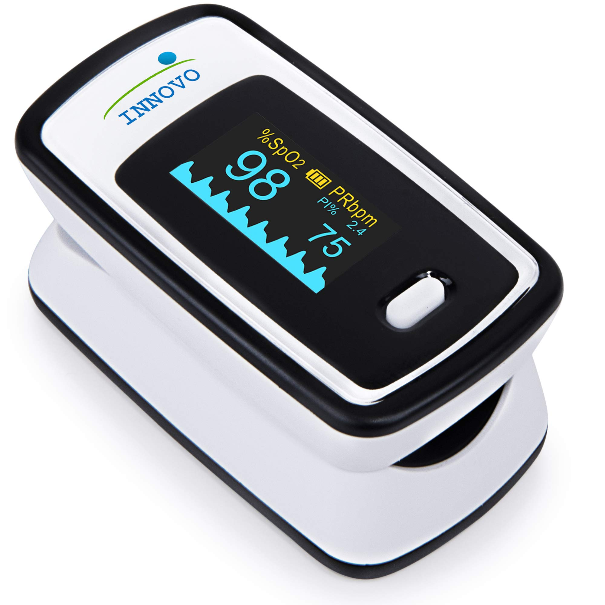 Innovo Deluxe Fingertip Pulse Oximeter with Plethysmograph & Perfusion Index