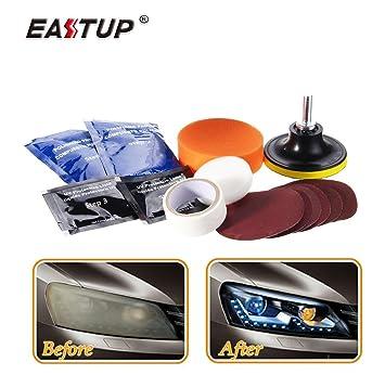 Eastup Headlight Lens Restoration Kit Taillight Restore tools
