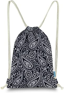 Skeleton Hand Pattern Beige Drawstring Backpack Sports Athletic Gym Cinch Sack String Storage Bags for Hiking Travel Beach