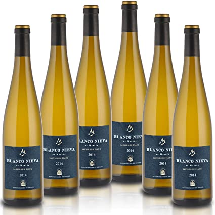 Blanco Nieva Sauvignon Blanc 2016 - Vino Blanco D.O. Rueda, (6 botellas x 0