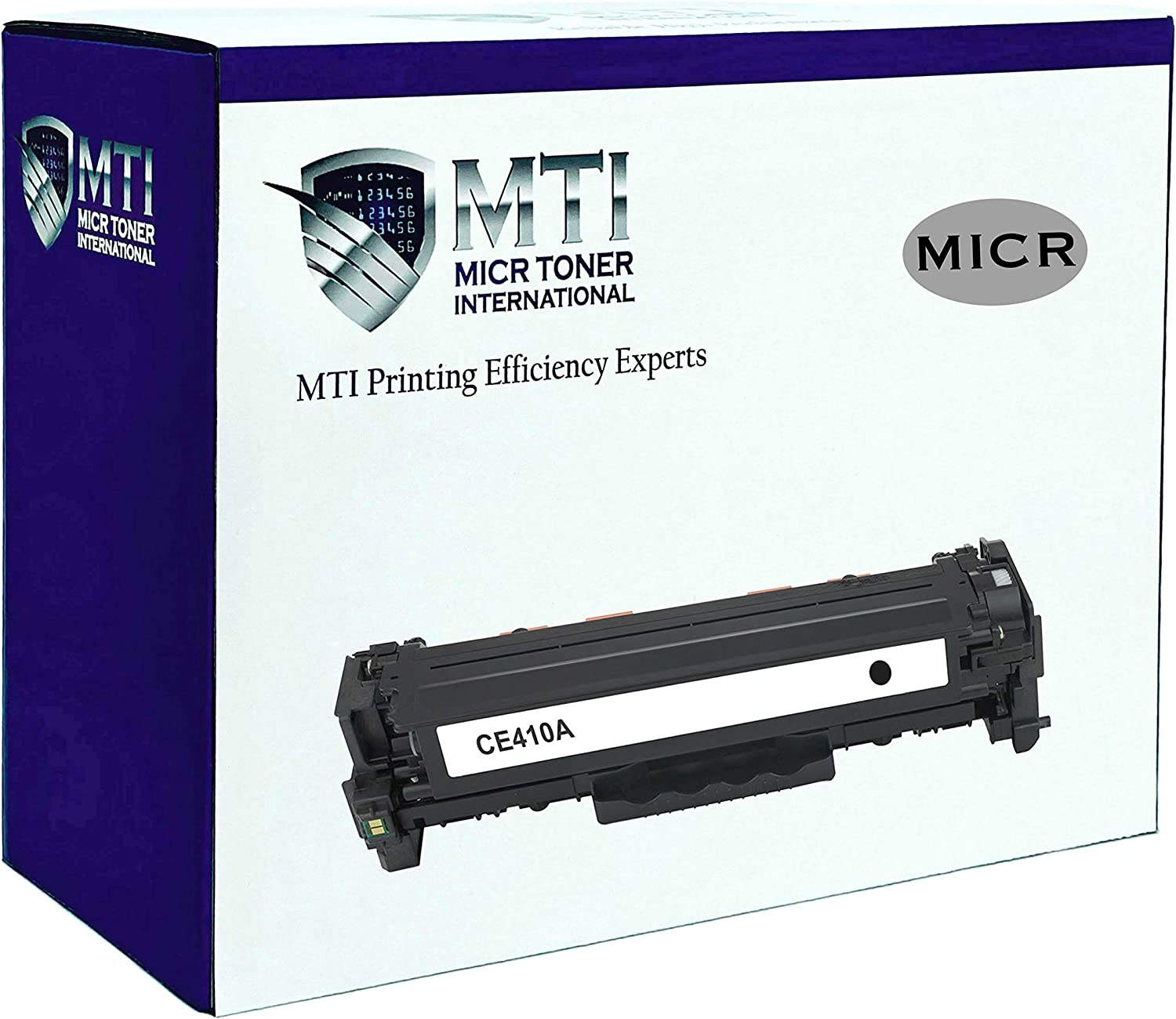 MICR Toner International Compatible Magnetic Ink Cartridge Replacement for HP CE410A 305A LaserJet M351 M375NW M451DN M451DW M475DN M475DW