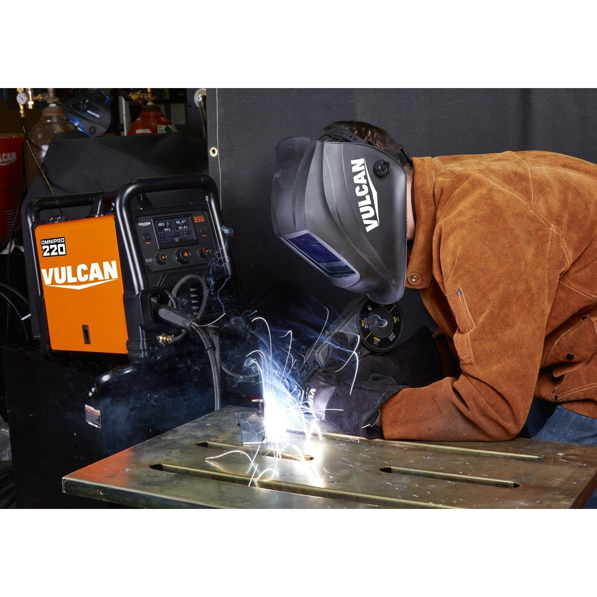 Vulcan OmniPro 220 Multiprocess Welder with 120/240 Volt Input by Vulcan (Image #9)