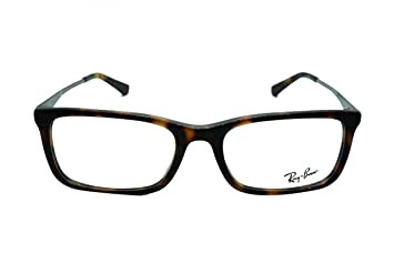 2ff2a14914 Amazon.com  Ray Ban Men s Eyeglasses RB5312D RB 5312 D 5248 Havana ...