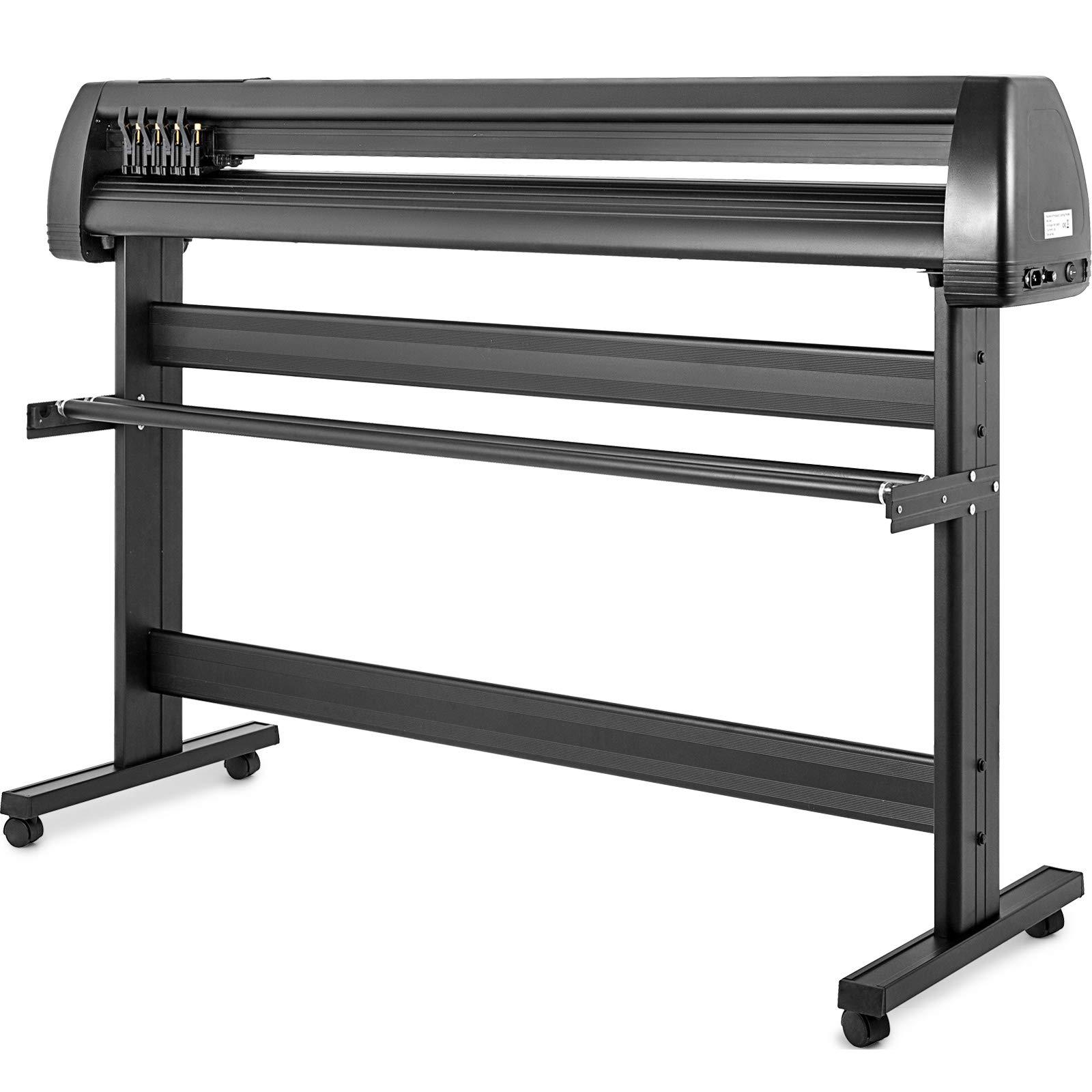 VEVOR Vinyl Cutter 53 inch Plotter Machine 1340mm Paper Feed Vinyl Cutter Plotter Signmaster Software Sign Making Machinewith Stand (53Inch Style 2) by VEVOR (Image #4)