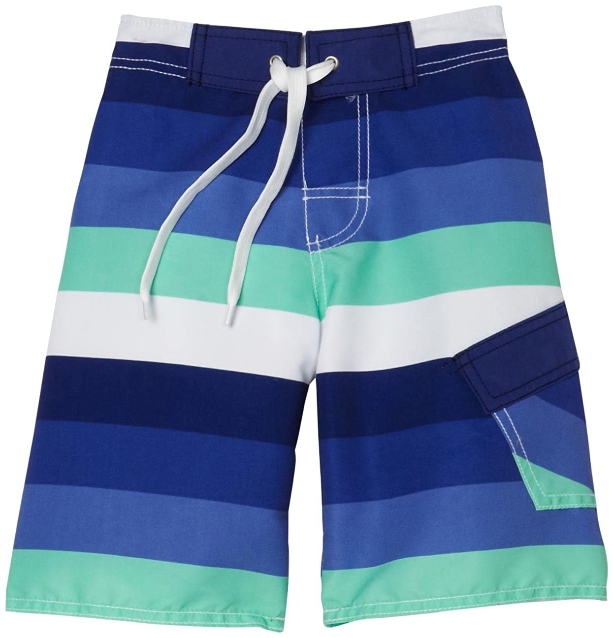 1f207a215d Charlie Rocket Little Boys' Sunset Stripe Swim Short, Sunset, 7: Amazon.in:  Clothing & Accessories