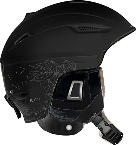 Salomon Icon Custom Air Helmet, Black, M: Amazon.co.uk: Clothing