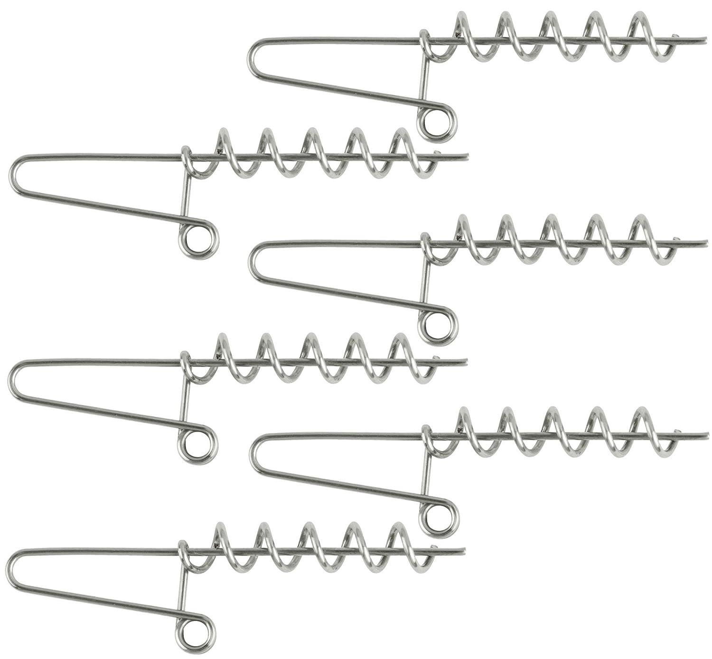Schraubspiralen f/ür Gummik/öder Screws f/ür Softbaits 5 Spiralen f/ür Gummifische /& Jigs Balzer Shirasu Cork Screw