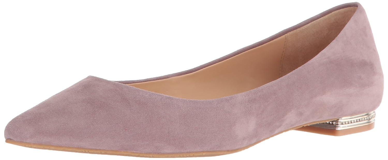 bluesh Badgley Mischka Womens Guardian Pointed Toe Flat