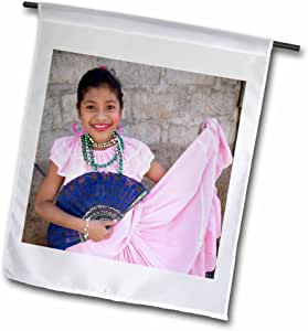 Danita Delimont - Nicaragua - Nicaragua, Granada, Traditional dress dancing - SA14 JME0080 - John and Lisa Merrill - 12 x 18 inch Garden Flag (fl_86872_1)