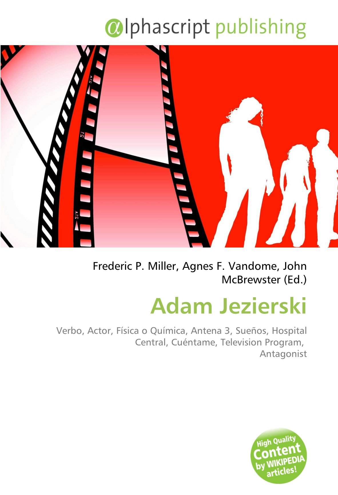 Adam Jezierski: Verbo, Actor, Física o Química, Antena 3 ...