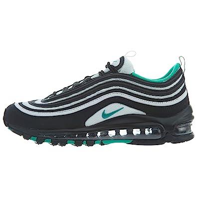 87bbfbcf997 Nike Air Max 97 (BG) Big Kids  Shoes Black Clear Emerald