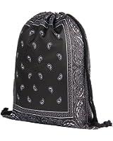 Jom Tokoy Drawstring Bag for Men & Women Travel Backpack